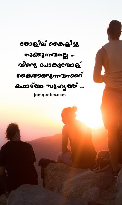 malayalam quotes on friendship 04